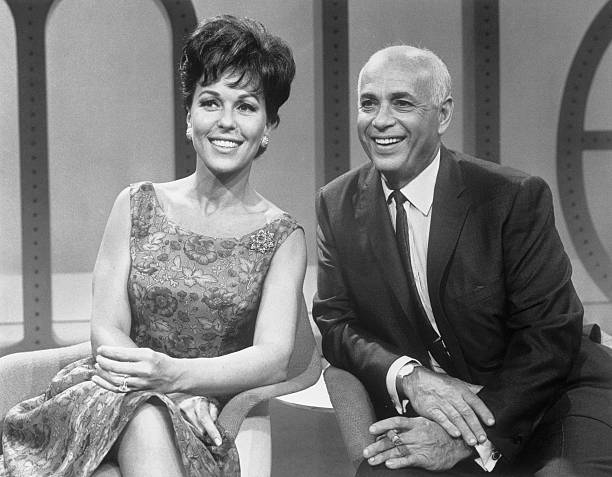 Bess Myerson and Allen Funt