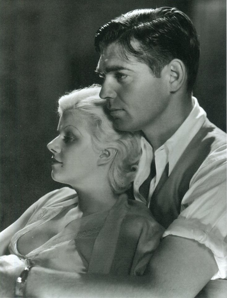 Jean Harlow (1911-1937) and Clark Gable