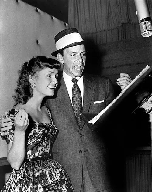 Frank Sinatra and Debbie Reynolds