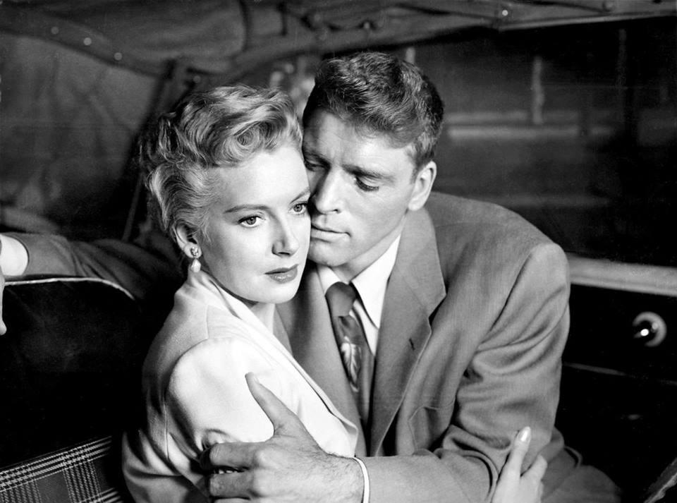 Deborah Kerr and Burt Lancaster