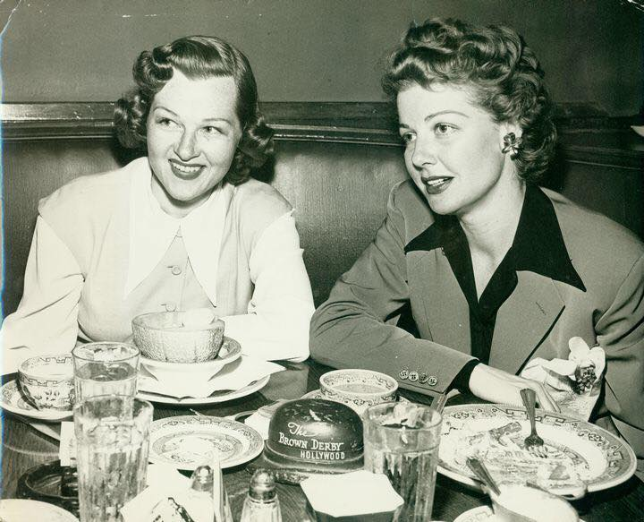 Jo Stafford and Ann Sheridan