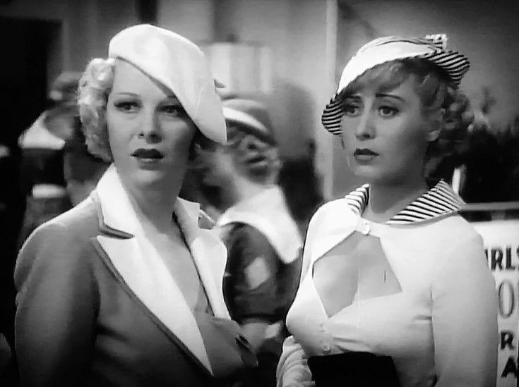 Glenda Farrell & Joan Blondell