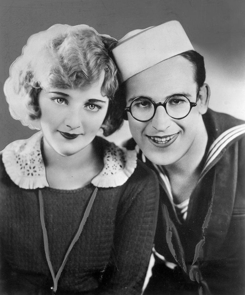 Mildred Davis and Harold Lloyd
