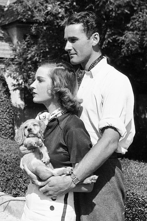 Errol Flynn and Lili Damita 1941.