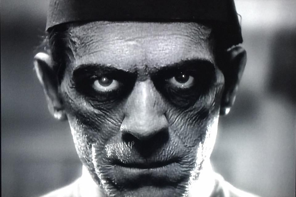 Boris Karloff.