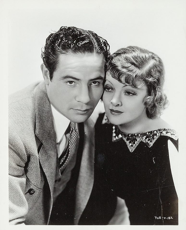 Max Baer and Myrna Loy