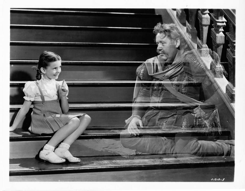 Charles Laughton and Margaret O'Brien