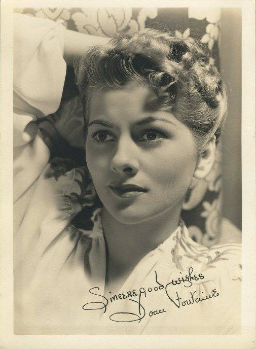 Joan Fontaine.