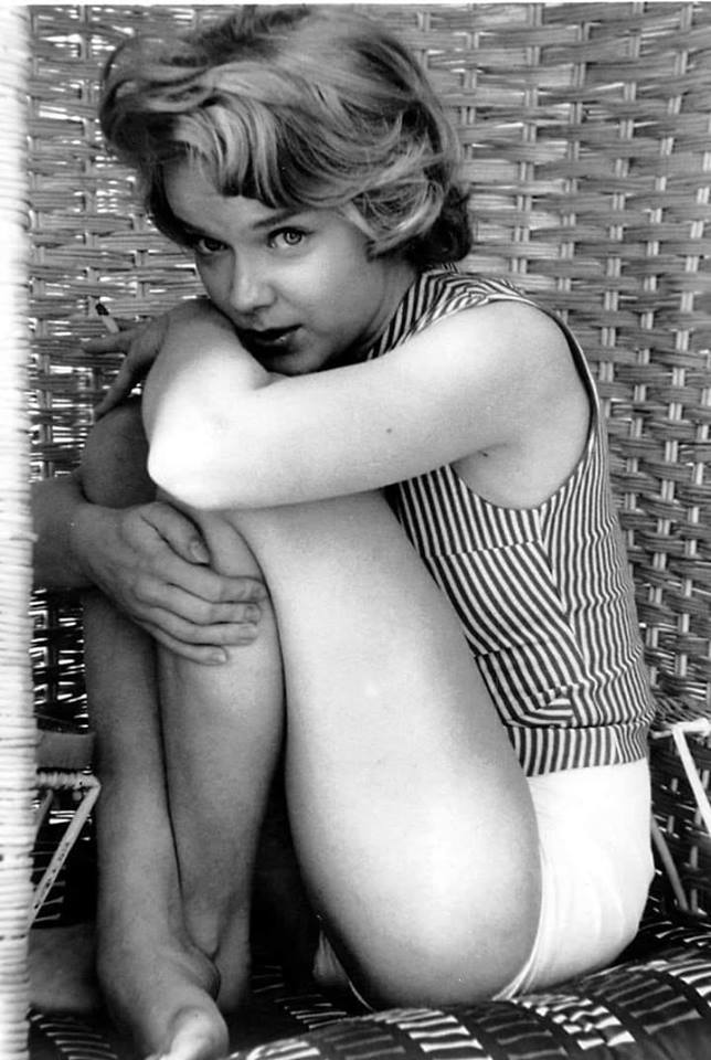Anne Francis.