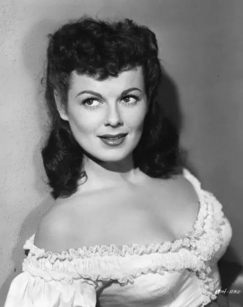 Barbara Hale.