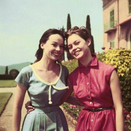 Leslie Caron & Brigitte Bardot