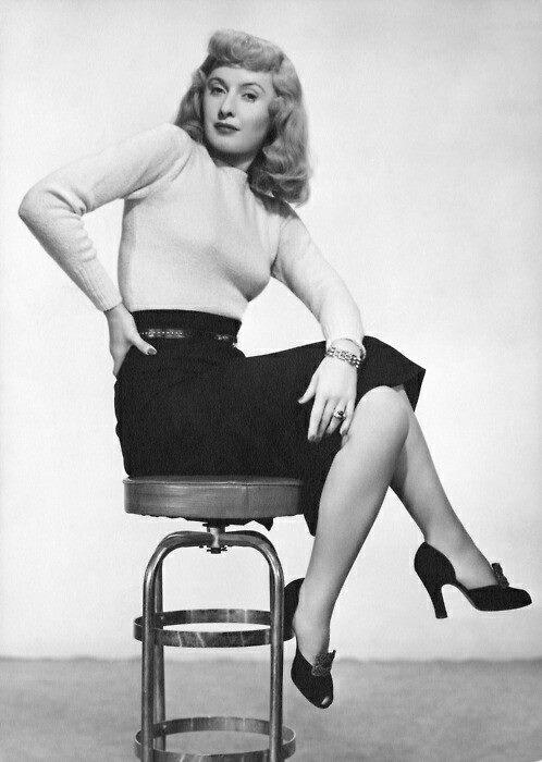 Barbara Stanwick.