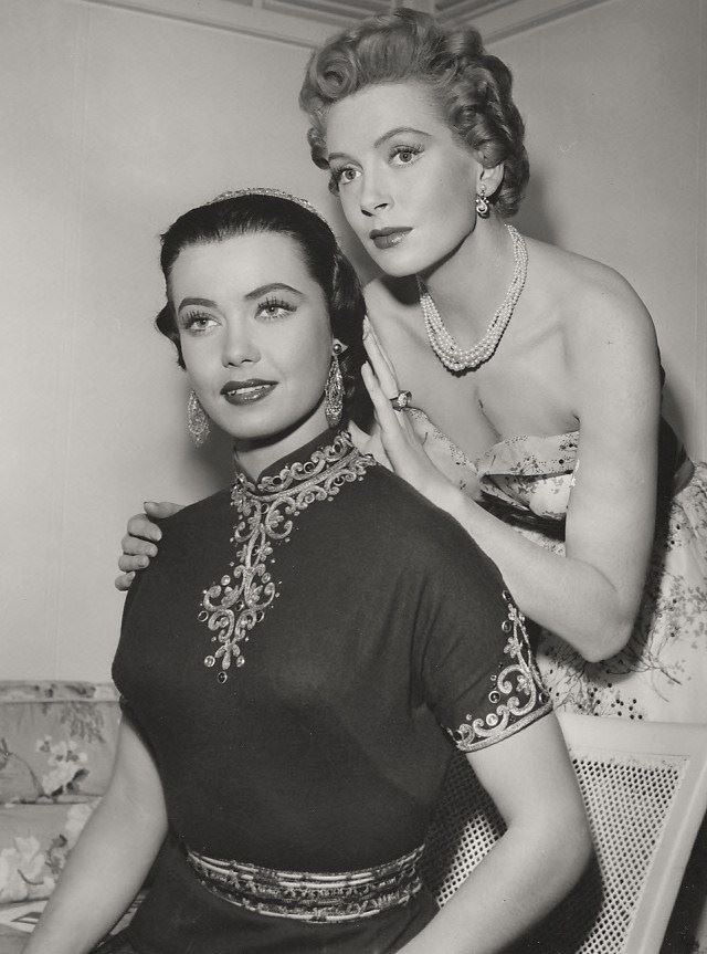 Betta St. John & Deborah Kerr