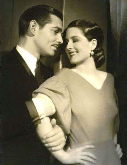 Clark gable and Norma shearer 1932.