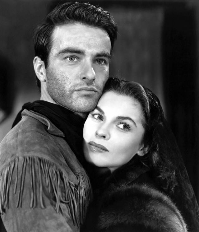 monty clift & joanne dru