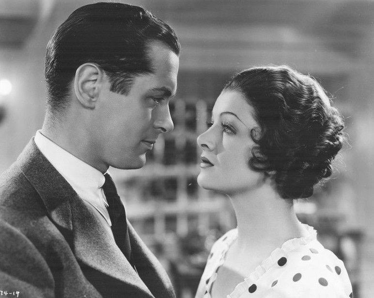 Myrna Loy, Robert Montgomery