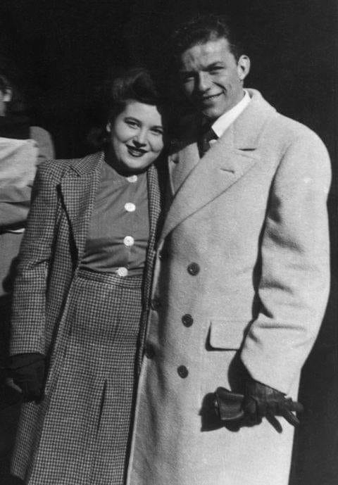 Frank Sinatra and his Mother Dolly