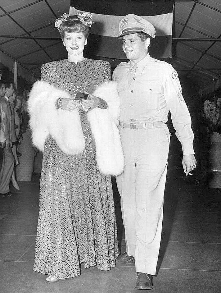 Lucille Ball and Desi Arnaz