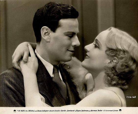 Carole Lombard and Norman Foster