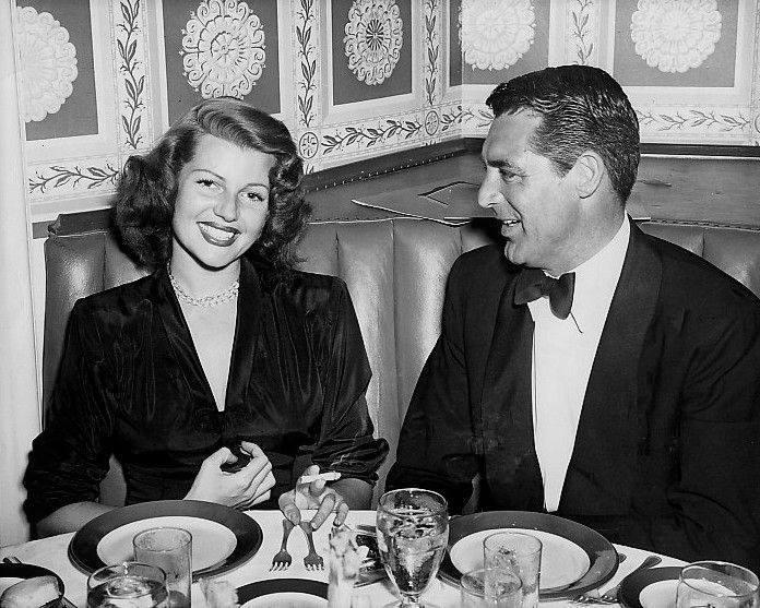 Rita and Cary Grant
