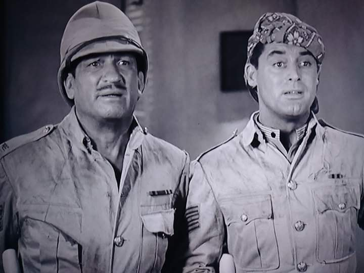 Victor McLaglen and  Cary Grant