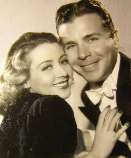 Joan Blondell and Dick Powell