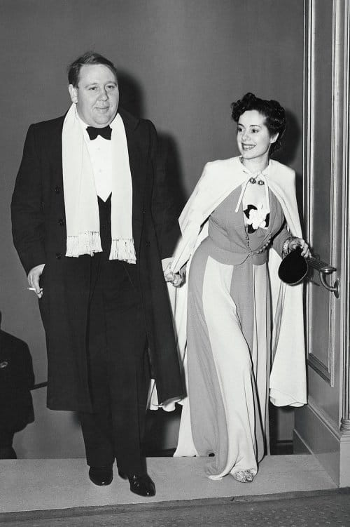 Charles Laughton and Elsa Lanchester.
