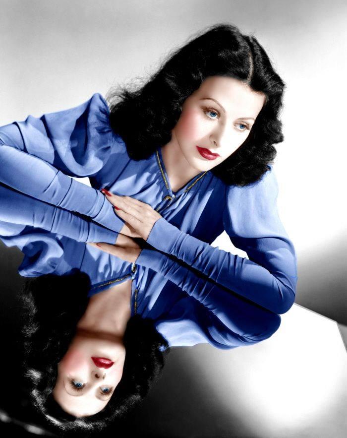 Hedy Lamarr.