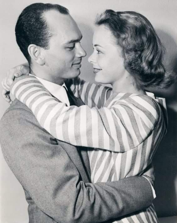 Yul Brynner and Virginia Gilmore