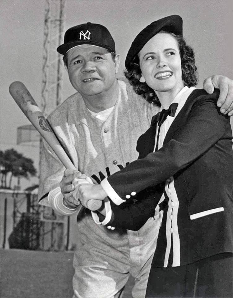 George Herman and Teresa Wright