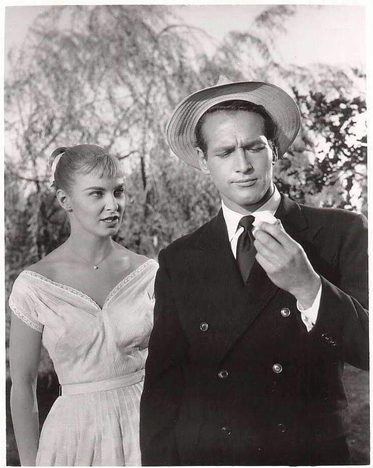 Paul Newman and his wife Joanne Woodward costarred