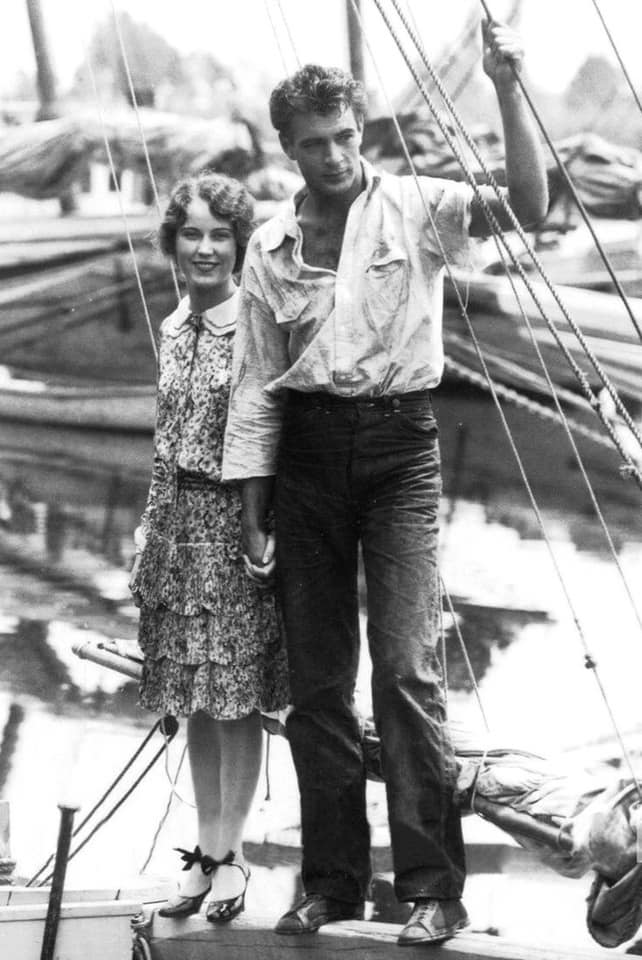 Fay Wray with Gary Cooper