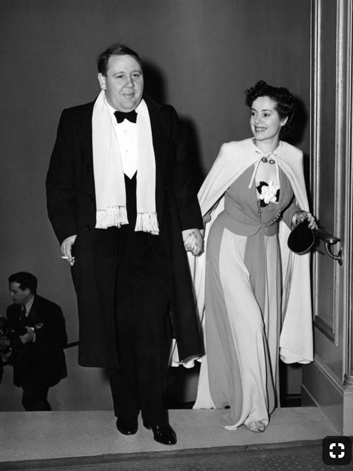 Charles Laughton & Elsa Lanchester