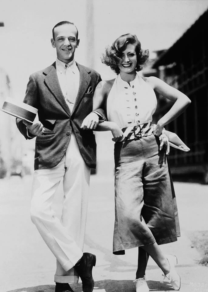 Joan Crawford & Fred Astaire