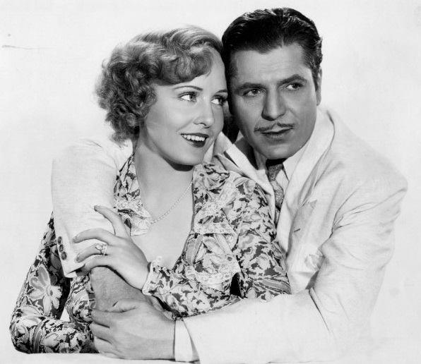 Warner Baxter, Madge Evans