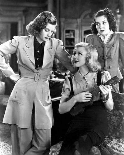 Lucille Ball, Ginger Rogers and Ann Miller