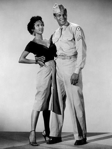 Dorothy Dandridge and Harry Belafonte