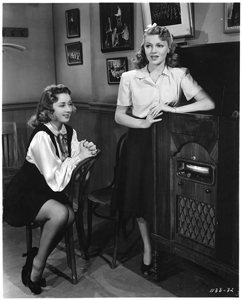 Joan Blondell and Lana Turner