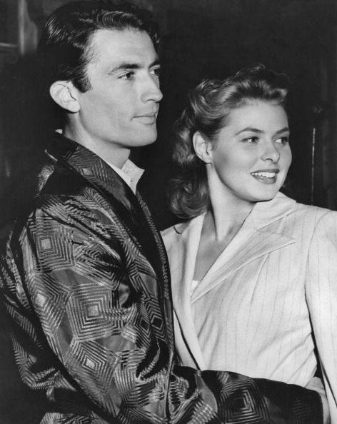 Gregory Peck and Ingrid Bergman