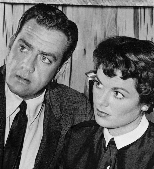 Raymond Burr & Barbara Hale