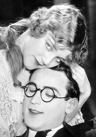 Harold Lloyd with Mildred Davis