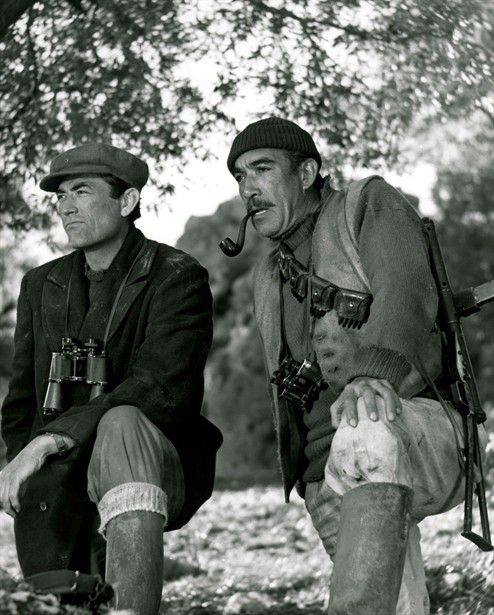 Gregory Peck and Anthony Quinn