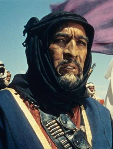 Anthony Quinn in Lawrence of Arabia (1962)