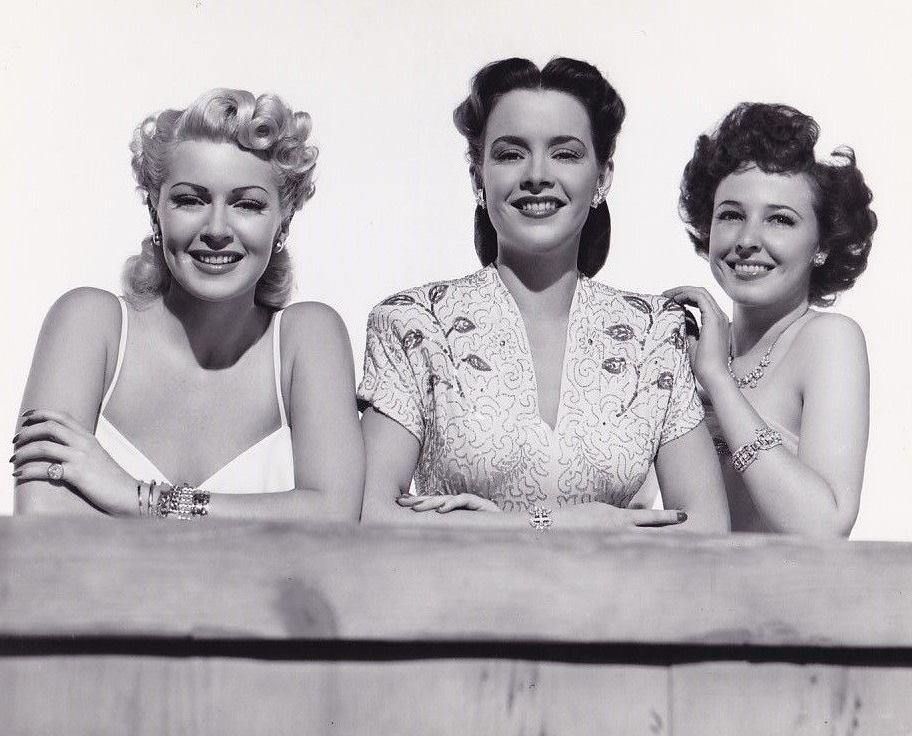 Lana Turner, Laraine Day, and Susan Peters