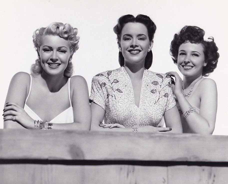 Lana Turner, Laraine Day, and Susan Peters