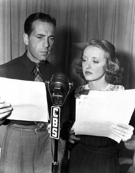 Humphrey Bogart and Bette Davis