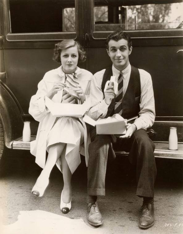 Irene Dunne and Robert Taylor