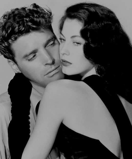 Burt Lancaster and Ava Gardner