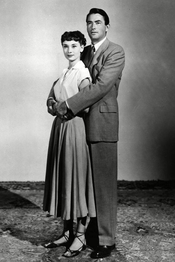 Audrey Hepburn & Gregory Peck