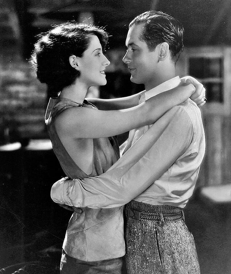 Norma Shearer and Robert Montgomery Private Lives 1931